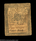 Colonial Notes:Pennsylvania, Pennsylvania June 18, 1764 10s Very Fine. Super condition ...