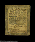 Colonial Notes:Pennsylvania, Pennsylvania June 18, 1764 20s Fine-Very Fine. The center ...
