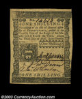 Colonial Notes:Pennsylvania, Pennsylvania April 3, 1772 1s Very Choice New. A fresh and ...