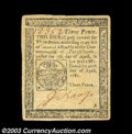 Colonial Notes:Pennsylvania, Pennsylvania April 20, 1781 3d Extremely Fine. Pretty for ...