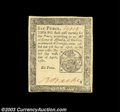 Colonial Notes:Pennsylvania, Pennsylvania April 20, 1781 6d Choice New. What appears at ...