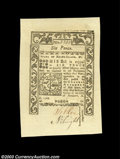 Colonial Notes:Rhode Island, Rhode Island May 1786 6d Superb Gem New. An absolutely ...