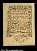Colonial Notes:Rhode Island, Rhode Island May 1786 20s Superb Gem New. Jumbo margins, ...