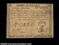 Colonial Notes:South Carolina, South Carolina October 19, 1776 $8 Choice About New. The ...