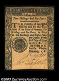 Colonial Notes:Vermont, Vermont February 1781 2s6d Extremely Fine. The nicest of ...