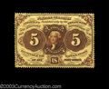 Fractional Currency:First Issue, Fr. 1229 5c First Issue Choice About New. Beautifully ...
