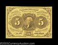 Fractional Currency:First Issue, Fr. 1230 5¢ First Issue Superb Gem New. A simply flawless ...