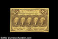 Fractional Currency:First Issue, Fr. 1281 25c First Issue Gem New. Broad, even margins, ...