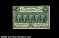 Fractional Currency:First Issue, Fr. 1310 50c First Issue Very Choice New. Fully perforated ...