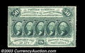 Fractional Currency:First Issue, Fr. 1310 50c First Issue Very Choice New. A strikingly ...