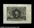 Fractional Currency:Second Issue, Fr. 1232SP 5c Second Issue Wide Margin Pair Very Choice New.