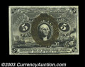 Fractional Currency:Second Issue, Fr. 1235 5c Second Issue Very Choice New. This truly ...
