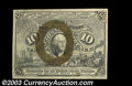 Fractional Currency:Second Issue, Fr. 1245 10c Second Issue Choice New. Strong back color....