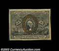 "Fractional Currency:Second Issue, Fr. 1286 25c Second Issue Inverted ""S"" Extremely Fine. A ..."