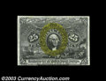 Fractional Currency:Second Issue, Fr. 1290 25c Second Issue Very Choice New. This rare Fiber ...