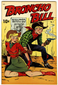 Broncho Bill #7 (United Features Syndicate/Standard, 1948) Condition: VF/NM