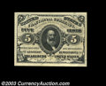 Fractional Currency:Third Issue, Fr. 1238 5c Third Issue Superb Gem New. Hugely margined, ...