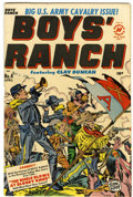 Golden Age (1938-1955):Western, Boys' Ranch #4 (Harvey, 1951) Condition: FN/VF....