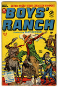 Golden Age (1938-1955):Western, Boys' Ranch #3 (Harvey, 1951) Condition: VG/FN....