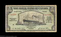 Canadian Currency: , Trinidad, Port of Spain- The Royal Bank of Canada $5 Jan. ...