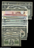 Canadian Currency: , Canadian Group Lot.