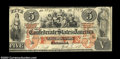 Confederate Notes:1861 Issues, T31 $5 1861. A very pretty example of this better type ...