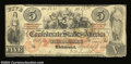 Confederate Notes:1861 Issues, T31 $5 1861. A nice appearing example with good color for ...