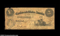 Confederate Notes:1861 Issues, T32 $5 1861. A decent example of this type, which is tough ...