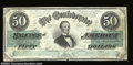 Confederate Notes:1862 Issues, T50 $50 1862. A nice example of this tougher note. Very ...