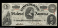Confederate Notes:1863 Issues, T56 $100 1863. A lovely 1863 Hundred with great eye appeal....