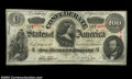 Confederate Notes:1863 Issues, T57 $100 1863. A pretty Choice Crisp Uncirculated Lucy ...