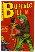 Golden Age (1938-1955):Western, Buffalo Bill #3 (Youthful Magazines, 1950) Condition: FN/VF....