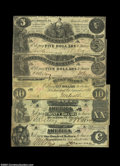 Confederate Notes:Group Lots, 1861 Confederates.