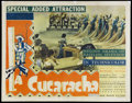 "Movie Posters:Short Subject, La Cucaracha (RKO, 1934). Half Sheet (22"" X 28""). Musical Short.Starring Steffi Duna and Don Alvarado. Directed by Lloyd Co..."