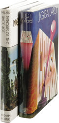 Books:First Editions, J.G. Ballard: Lot of Two First Edition Books, including:.Crash. (London: Jonathan Cape, 1973), first edition, 224p... (Total: 2 )