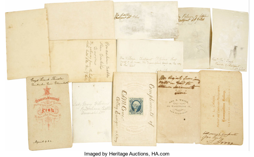 19th Century Carte de Visite Collection believed to be the