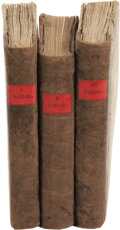 Books:Non-American Editions, The Lucubrations of Isaac Bickerstaff, Esq.. (London: Printed for H. Lintot, D. Midwinter, J. and P. Knapton, W. Innys, ... (Total: 3 )