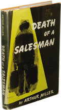 Books:Signed Editions, Arthur Miller Signed: Death of a Salesman. (New York: The Viking Press, 1949), first edition, 139 pages, orange cloth wi...
