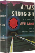 Books:First Editions, Ayn Rand Signed Presentation Copy: Atlas Shrugged (New York:Random House, 1957), first edition, first printing, publish...