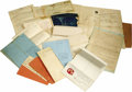 Miscellaneous:Ephemera, Hawaii Territory Document Collection consisting of approximately 17 documents or groups of documents ranging in date from th... (Total: 17 )