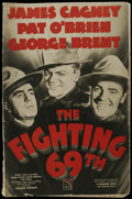 Movie Posters:War, The Fighting 69th (Warner Brothers, 1940). Pressbook (MultiplePages). War. Starring James Cagney, Pat O'Brien, George Brent...
