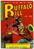 Golden Age (1938-1955):Western, Buffalo Bill #5 (Youthful Magazines, 1951) Condition: VF-....