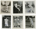 """Autographs:Photos, 1950 Pittsburgh Pirates Signed Photographs Lot of 18. Stunningcollection of 18 4x5"""" black and white glossy prints featurin..."""