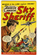Golden Age (1938-1955):Crime, Sky Sheriff #1 (D.S. Publishing, 1948) Condition: FN+....