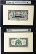 Canadian Currency: , Roseau, Dominica- Royal Bank of Canada $5 Jan. 3, 1938 Ch. 630-44-02 Face and Back Proofs. ... (Total: 2 notes)