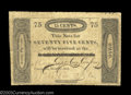 Obsoletes By State:Ohio, Cincinnati, OH- Miami Exporting Co. 75¢ Dec. 1, 1818 G18
