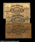 Obsoletes By State:Ohio, Cleveland, OH- City of Cleveland 5¢ Oct. 16, 1862
