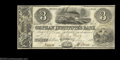 Obsoletes By State:Ohio, Fulton, OH- Orphan Institute's Bank $3 July 1, 1838 G6