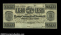 Obsoletes By State:Ohio, Newark, OH- Town Council of Newark 12 1/2¢ July 1, 1841