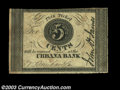 Obsoletes By State:Ohio, Urbana, OH- John A. James 5¢ A circa 1837 scrip issue that ...
